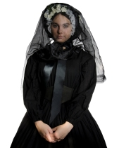Marie Walker Mourning Dress