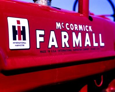 Tractor on Provia