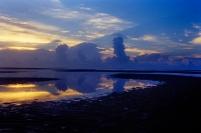 Sunrise Sapelo Island, 2001, Fuji Provia slide film